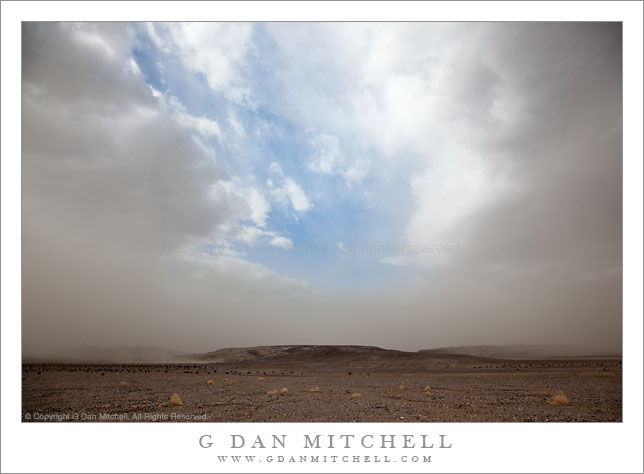 Dust Storm, Death Valley